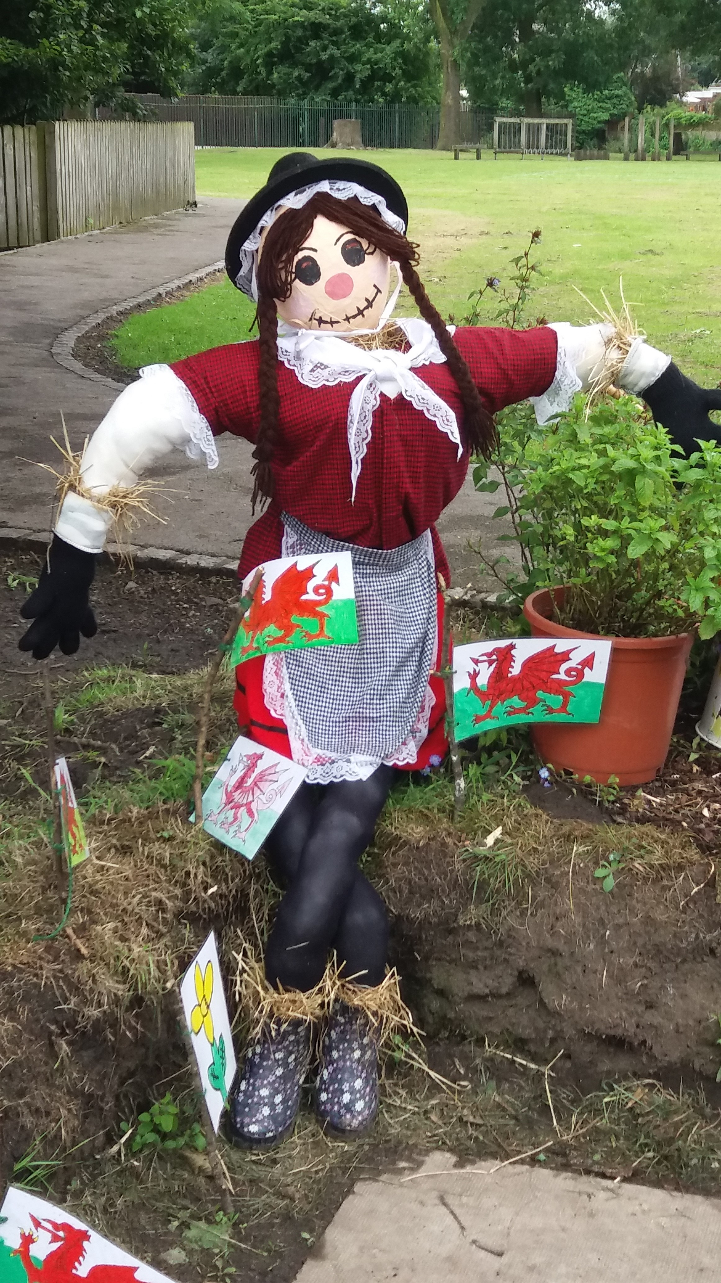 Welsh Lady - Year 4